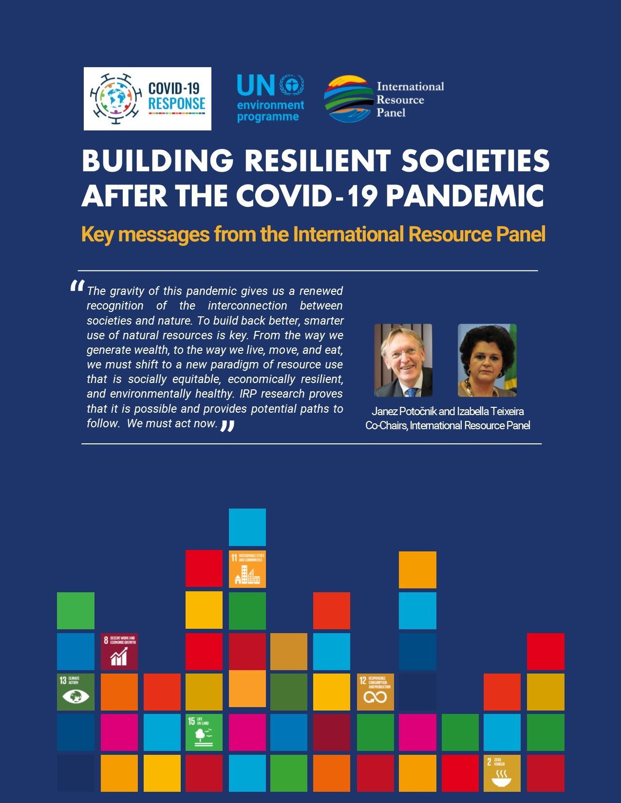 Coronavirus and SDGs Environment sustainability and economy resilience