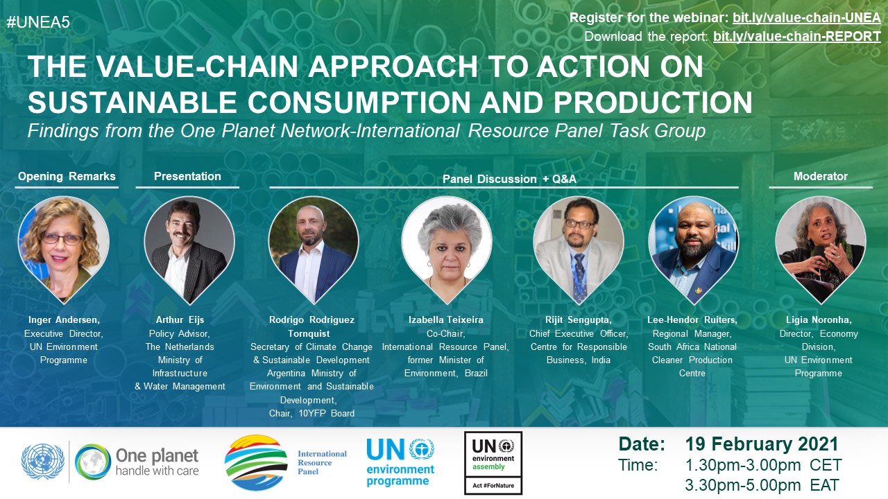 Value Chain Approach SCP IRP One Planet Network